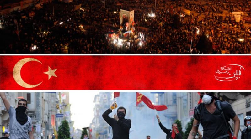 ترکیه در شعلههای آشوب