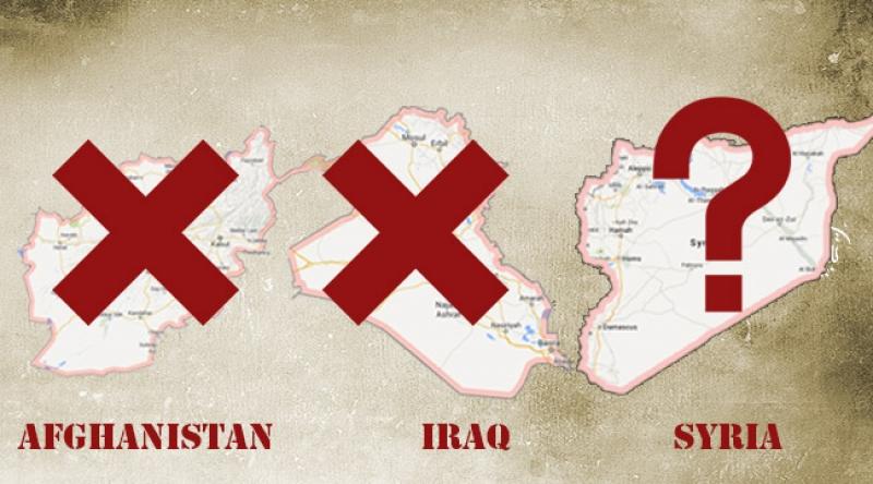 رویکرد آمریکا در مورد سوریه