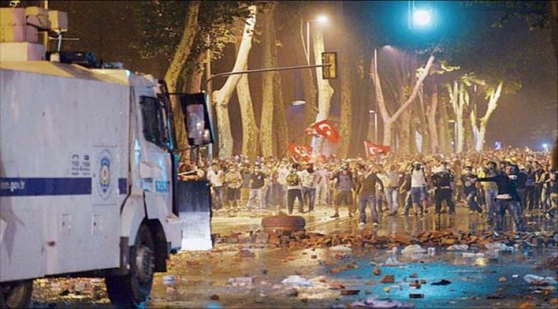 تقسیم؛ میدان «التحریر» ترکیه
