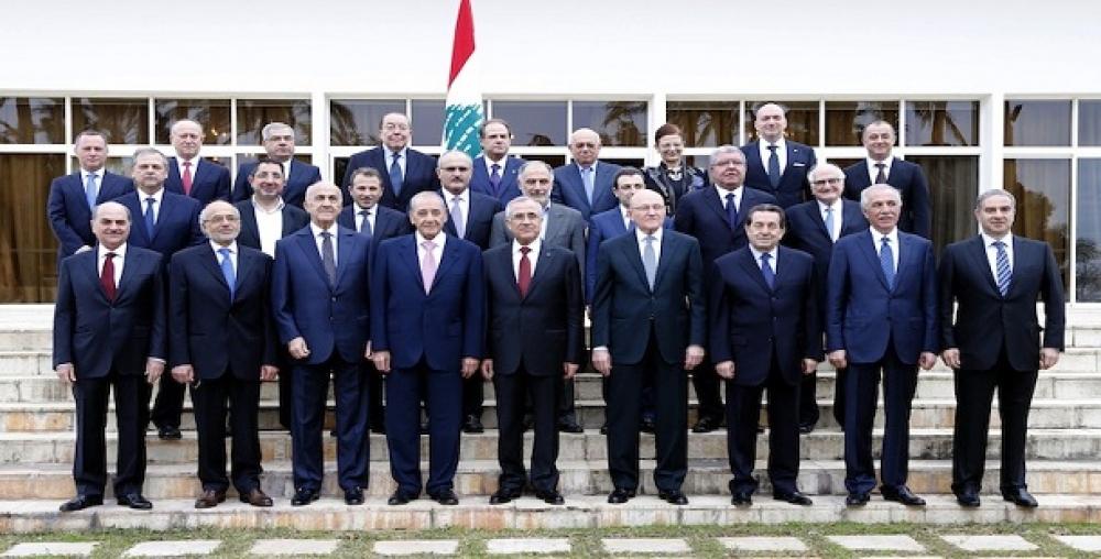 لیست کابینه جدید لبنان