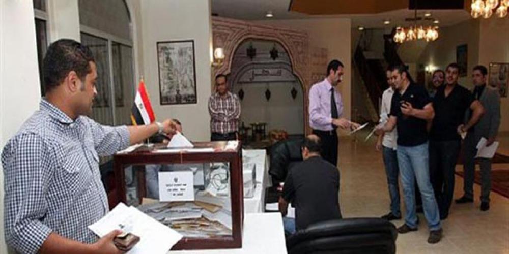 انتخابات در سفارتخانههای مصر