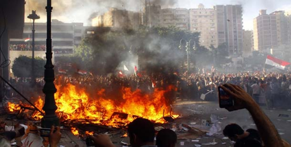 بررسی میزان احتمال وقوع جنگ داخلي در مصر