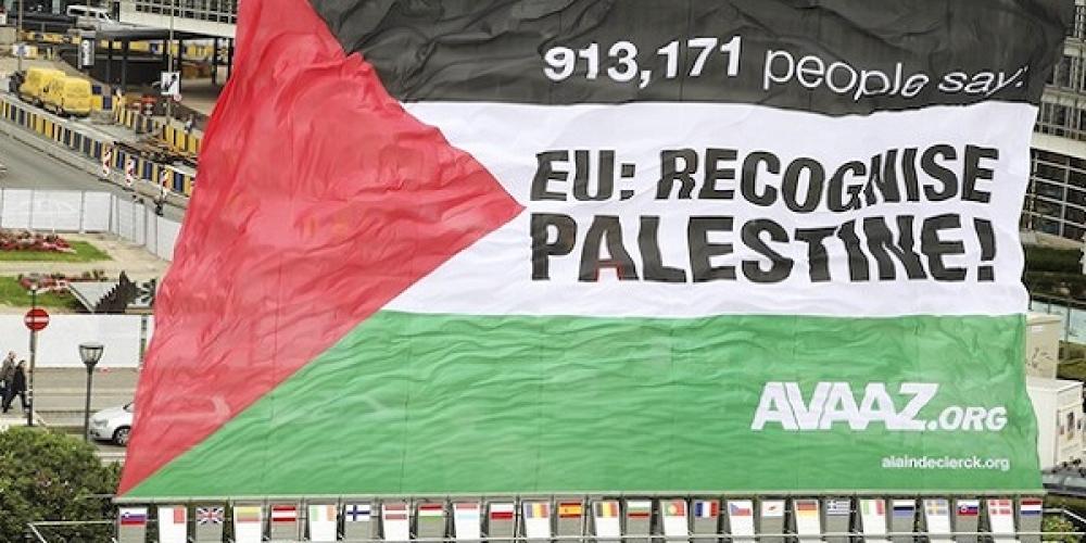 اهداف اروپائیان در به رسمیت شناختن دولت مستقل فلسطین