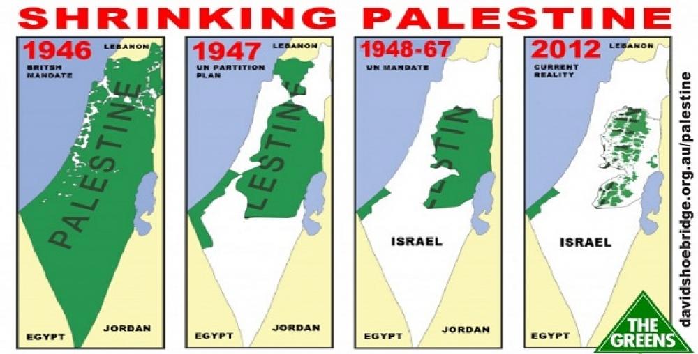 فلسطین در پیچ تاریخی