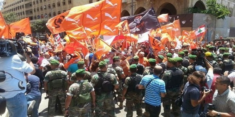 فرصتها و تهدیدهای اعتراضات خیابانی طرفداران میشل عون در لبنان