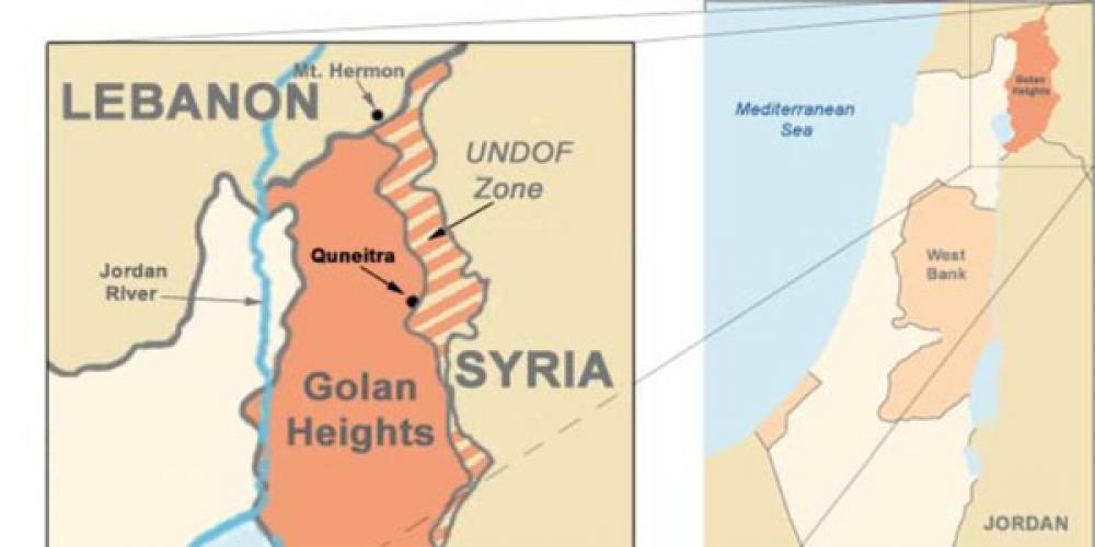 7825d940a749f0179cc7ea360c8ae6de XL - تأثیرات بحران سوریه بر وضعیت بلندیهای جولان