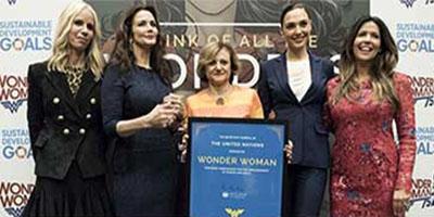 چرا سازمان ملل «زن شگفتانگیز» را به عنوان نماینده خود انتخاب میکند؟