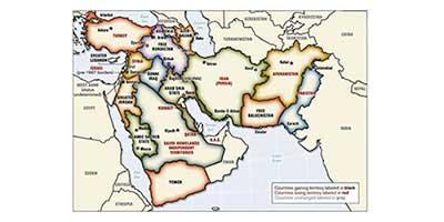 نقشه تجزیه غرب آسیا توسط چه کسی طراحی شد؟