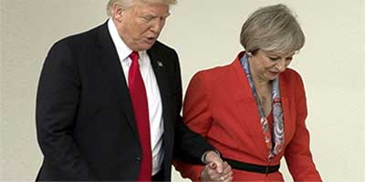 می و ترامپ «رابطه ویژه» لندن-واشنگتن را به کدام سو میبرند؟