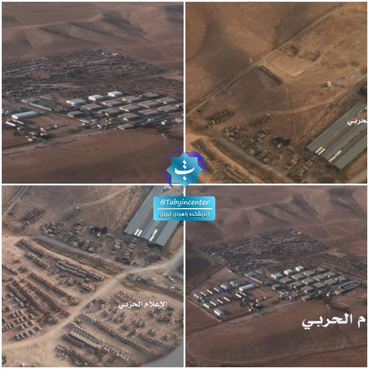 203 استقرار خودروهای زرهی آمریکا در مرز اردن با سوریه