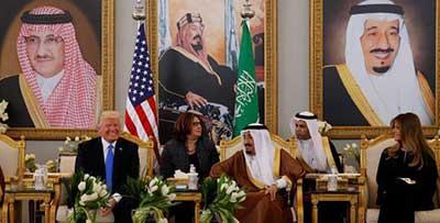 سفر ترامپ به ریاض و چشمانداز طراحی آمریکایی – سعودی