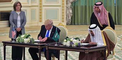 توافقات نظامی عربستان سعودی و ایالاتمتحده؛ دلایل و پیامدها