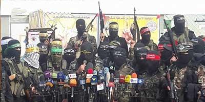 معرفی گروههای نظامی جریان مقاومت فلسطینی