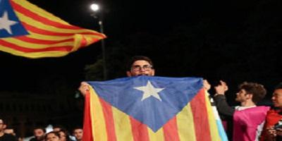 1 - اینستا گرام/ اعلامیه استقلال کاتالونیا امضا شد..