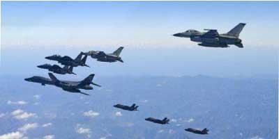 سایه بمبافکنهای آمریکایی بر سر مذاکرهکنندگان کره شمالی و جنوبی