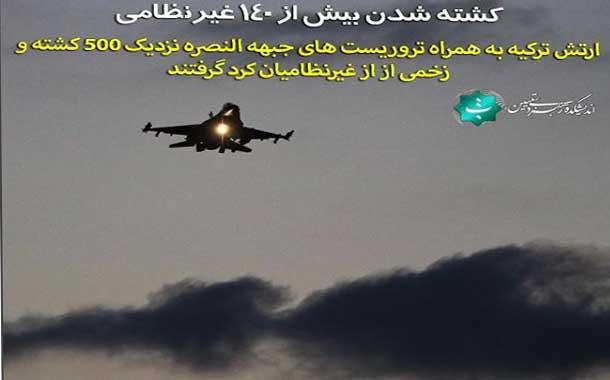 211196 1 2 - اینستاگرام/ کشته شدن بیش از 140 غیرنظامی در حملات ارتش ترکیه و جبهه النصره