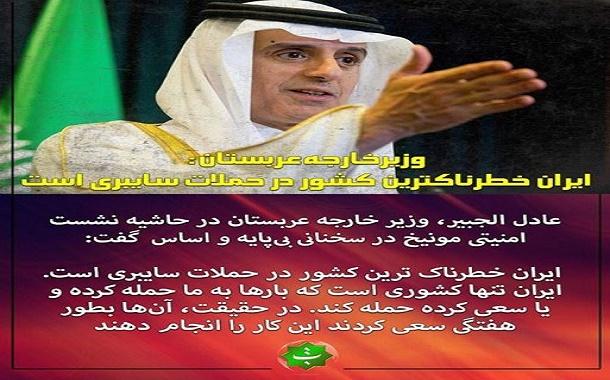 31296 2 - اینستاگرام/ الجبیر مجددا به ایران اتهام زد؛ این بار حملات سایبری