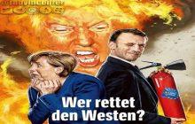 اینستاگرام/ سفر سران فرانسه و آلمان به واشنگتون / چه کسی غرب را نجات می دهد؟