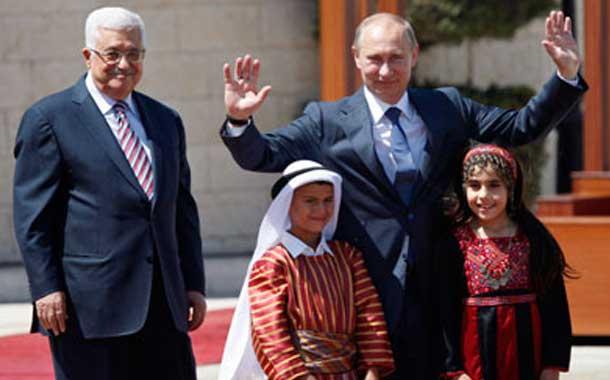 بازیگری روسیه در منازعه رژیم صهیونیستی و گروههای فلسطینی