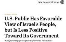 ارزیابی نظرسنجی موسسه پیو درباره نگاه مردم آمریکا به فلسطین